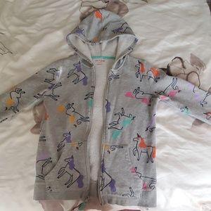 Zipp up hoodie